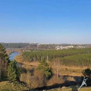 Panerių kalvomis į Gariūnus (9 km)