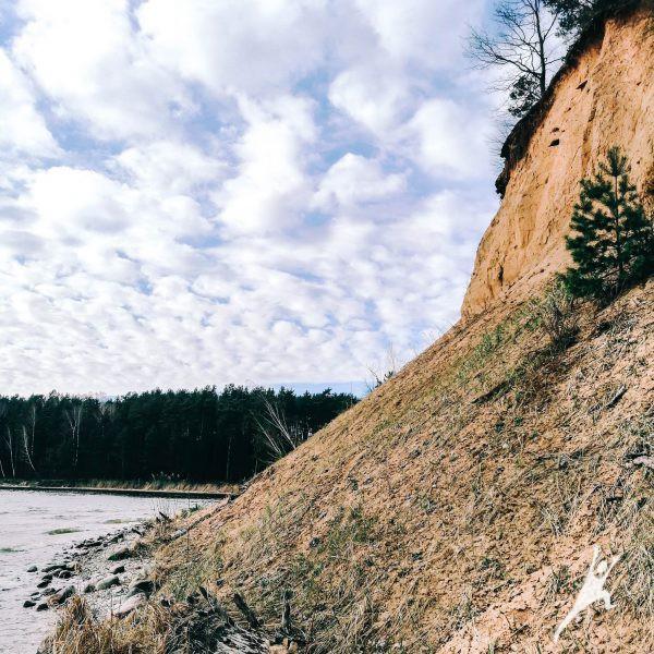 Kauno marių atodangomis (15 km)