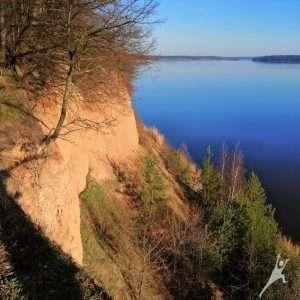 Kauno marių atodangomis (16 km)