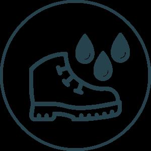 Reikalingi neperšlampami žygio batai
