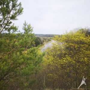 Punios miestelio takais ( 9 km)