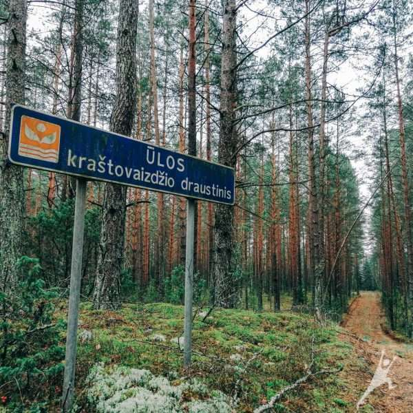 Palei Ūlą pro Kašėtų kaimą (13 km)