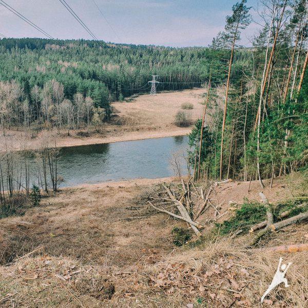 Stačiais Neries krantais nuo Elniakampio ežero (17 km)