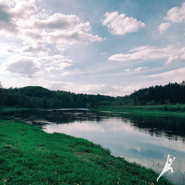 Takas gražiausiame Lietuvos kaime (12 km)