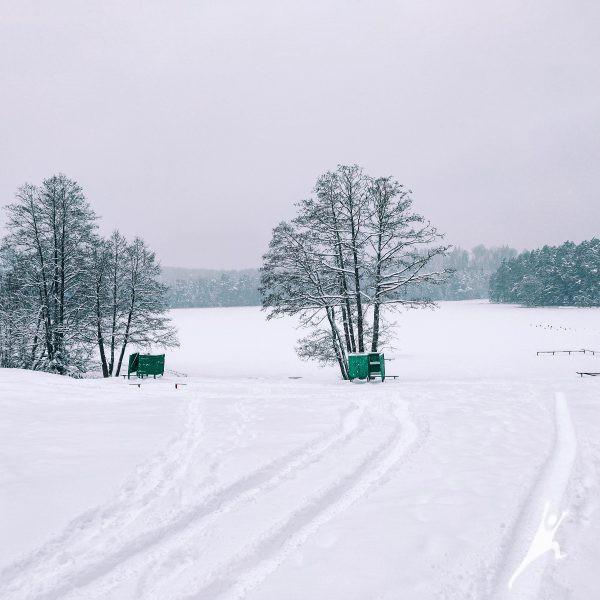 Kurtuvėnų parko ežerais (15 km)