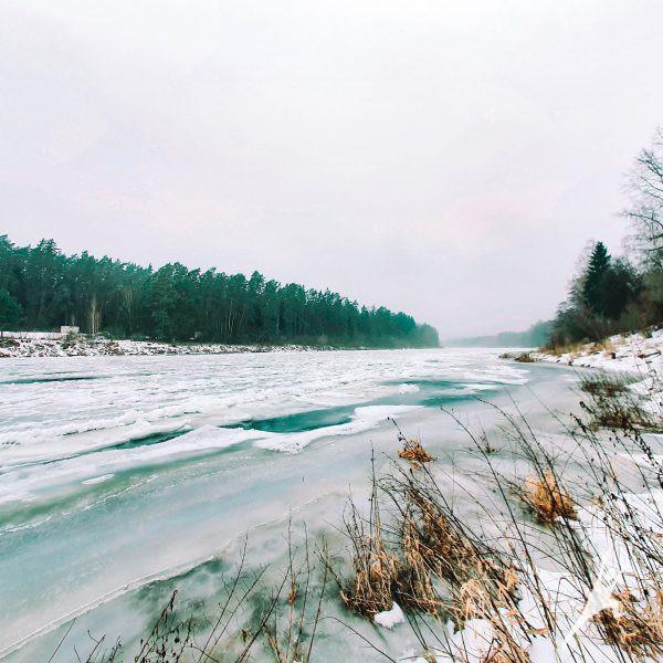 Link Tverktos ir Nemuno santakos (14 km)