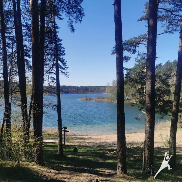Natūralus gamtos SPA aplink Gėlos ežerą (6 km)