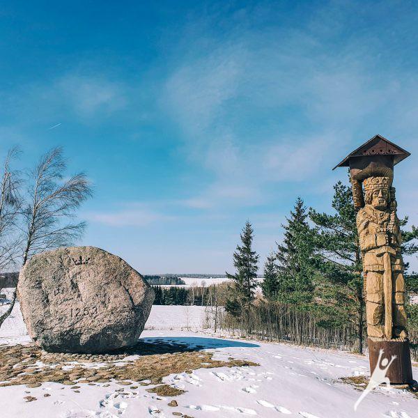 Medininkų istorijos ženklais (9 km)