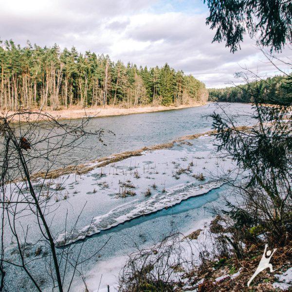 Kavarsko įžymybės ir Šventosios pakrantės (22 km)