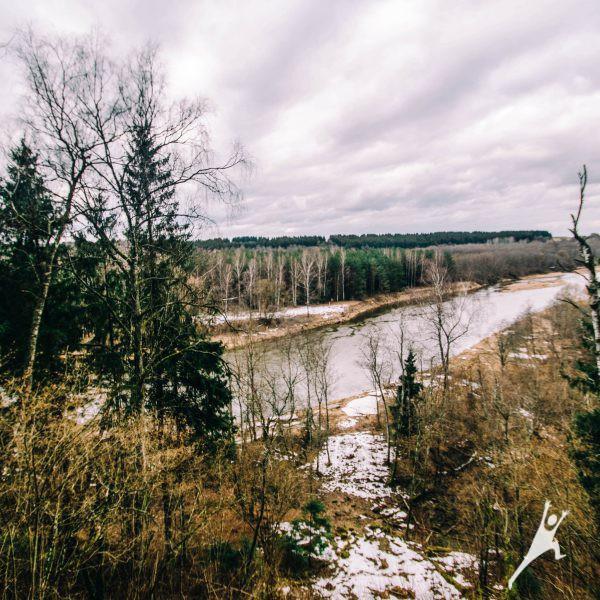 Miško takais per Šventosios baseiną (31 km)