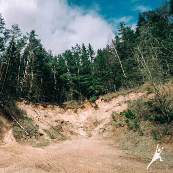 Medininkų istorijos ženklais (8 km)