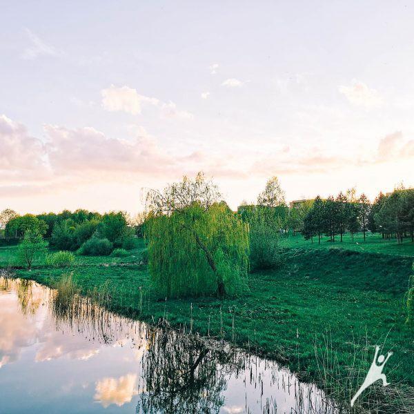 Kruojos upe nuo Pakruojo dvaro (25 km)